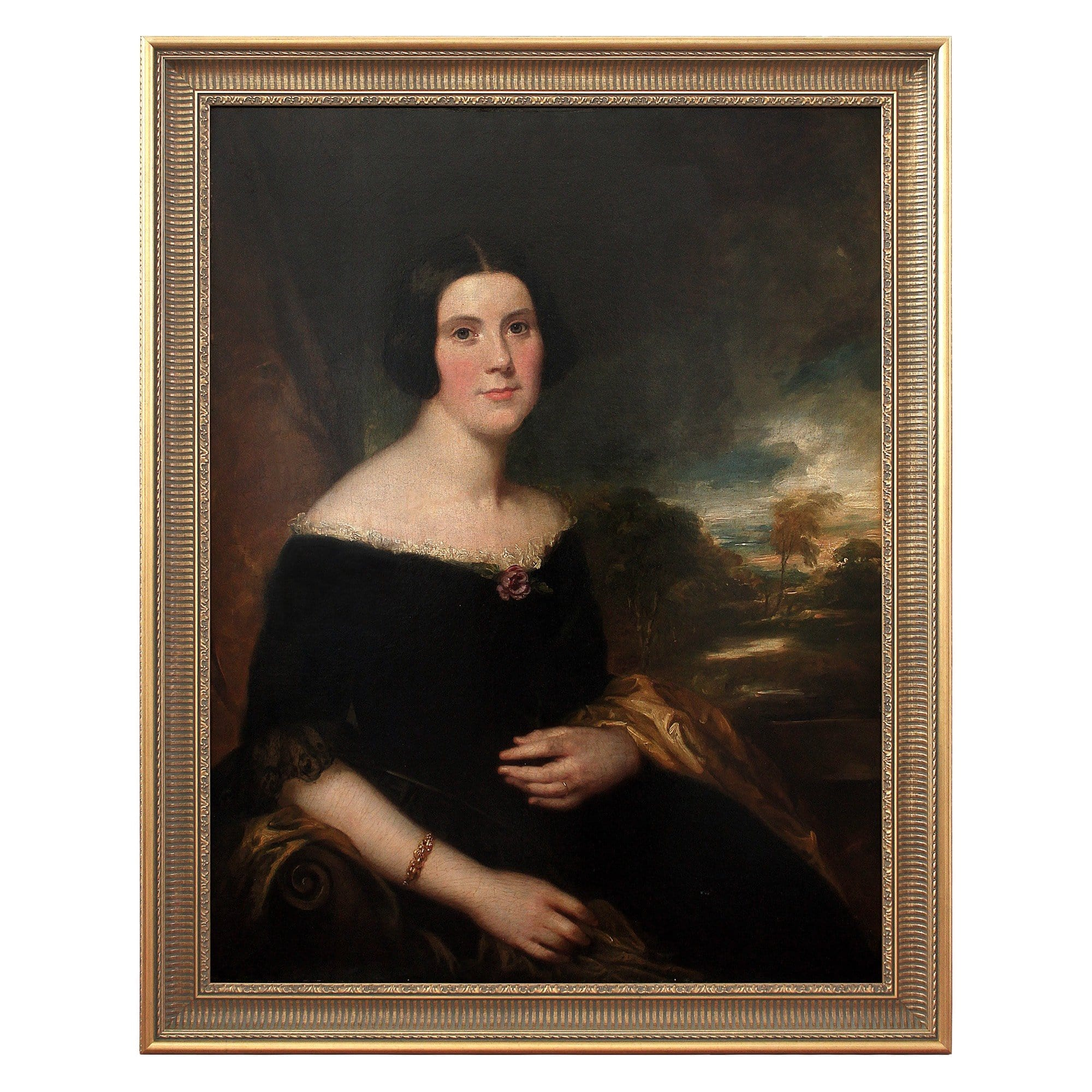 Attr. George Clint, Portrait Of Lydia Augusta Allen