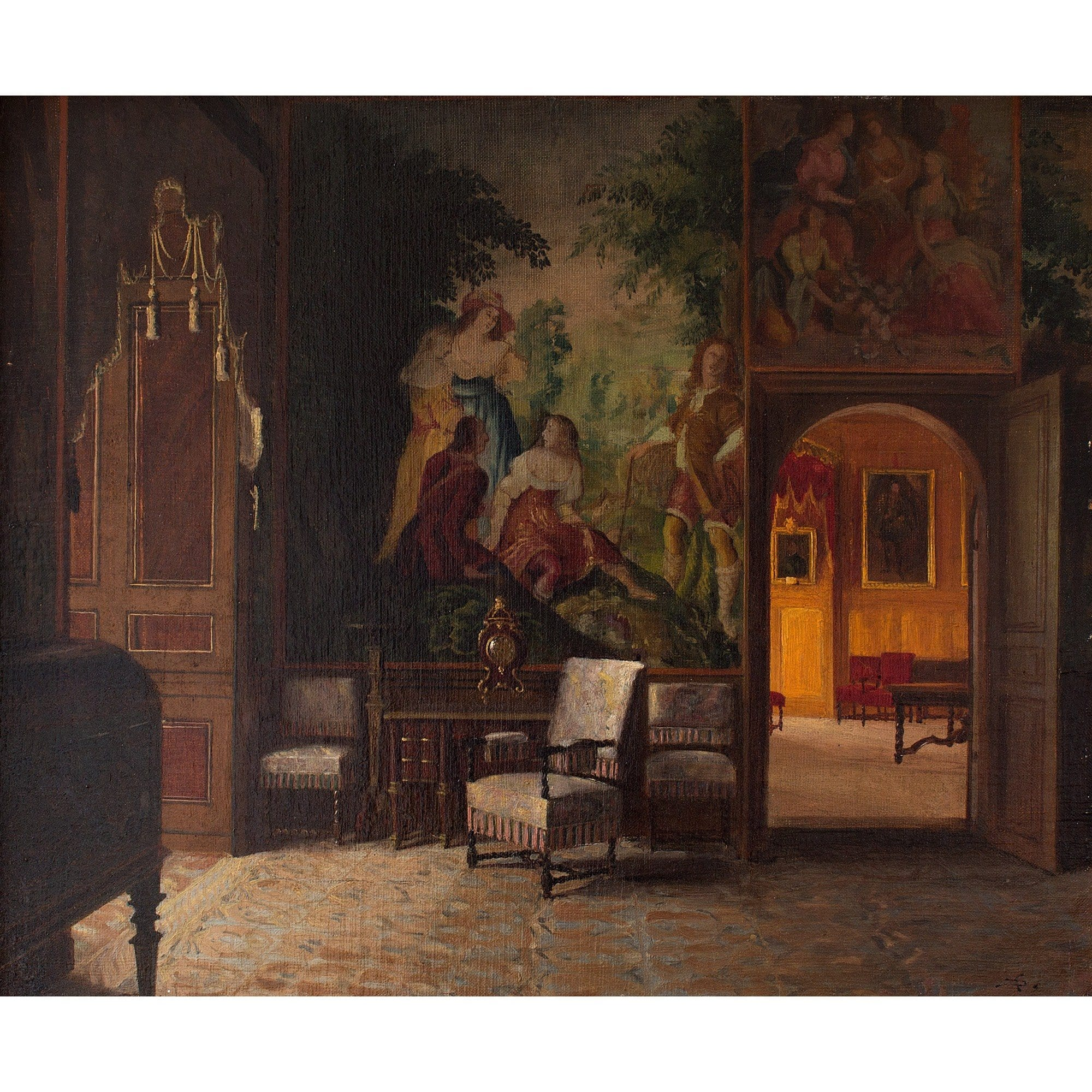 Swedish School, Interior of Gripsholm Castle