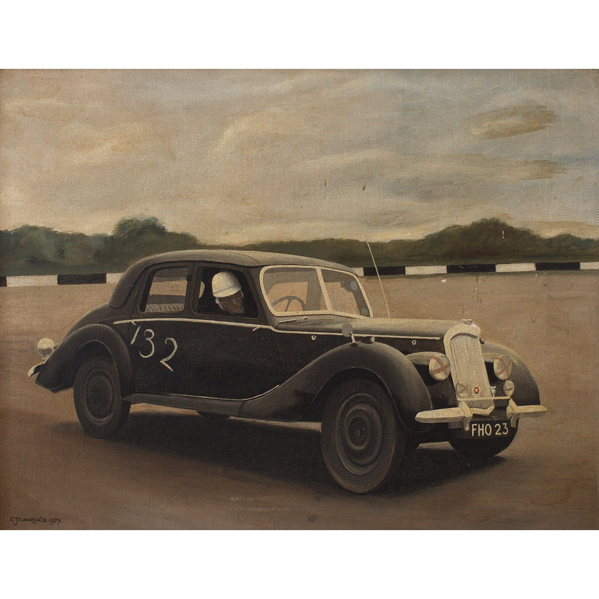 C J Lawrence, 1950s British Racing Car