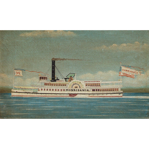 After James Bard, The Paddle Steamer 'Morrisania'