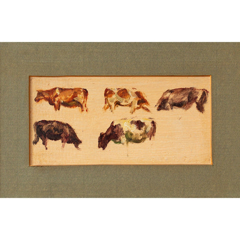 Hemich Vitz, Five Cow Studies