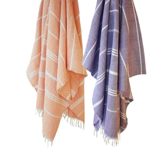 Turkish Bath or Beach Towel  100% Cotton 180cm/6ft  Multiple Colors