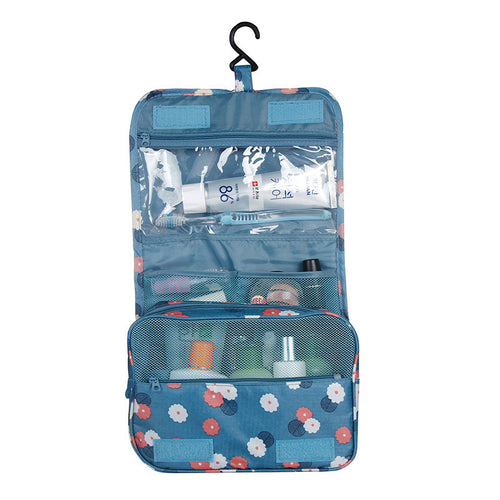 Oxford Multi-function Storage Hang Make Up Luggage Bag Women Travel Large Capacity Cosmetic Bags BS88