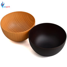New Arrival  Natural Wooden Solid Bowl Wood Material  Food Containers High Quality Rice & Fruit Bowl For baby Kitchen Tableware