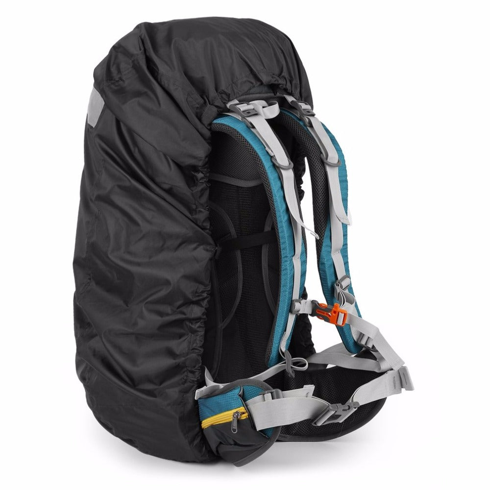 New Outdoor Unisex Waterproof Backpack Rain Bag Cover Resistant Cover Hiking Camping Backpack Rucksack Bag For Adult Black