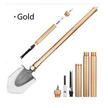 High Quality 78cm 1130g Steel Folding Spade Outdoor Camp Multi-Function Outdoor Camping Shovels #EW