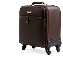 16 inch Classic Business suitcase luggage trolley case travel luggage rolling suitcase spinner wheels valise bagages
