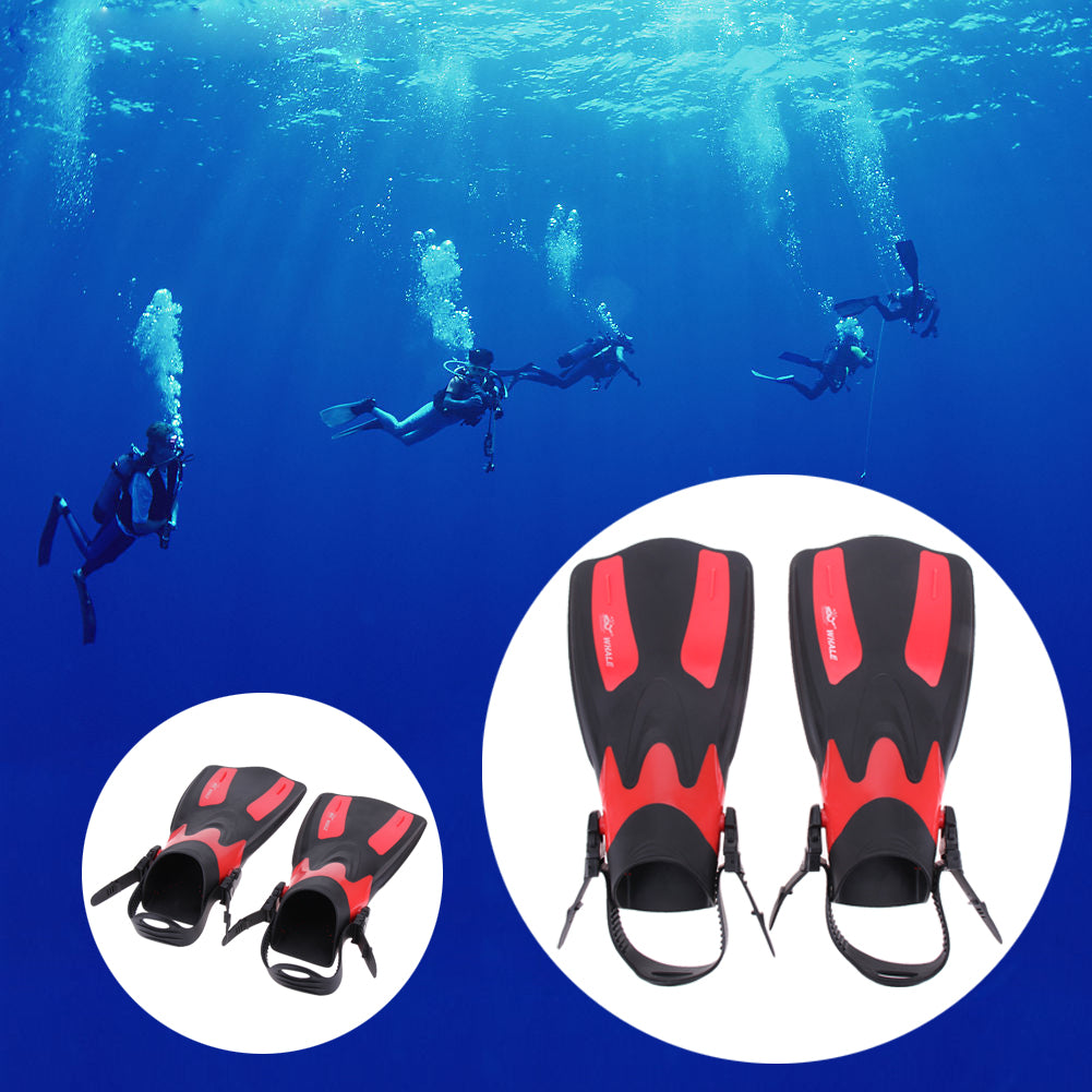 1 Pair Unisex Swimming Long Flippers Fin Webbed Diving Fin Boots Monofin Swimming Shoes Snorkeling Pool Training Shoes