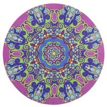 Round Yoga Beach Towel