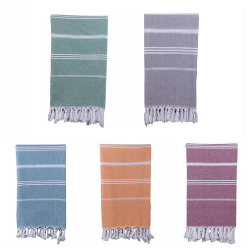 Turkish Bath or Beach Towel  100% Cotton 180cm/6ft Various Colors