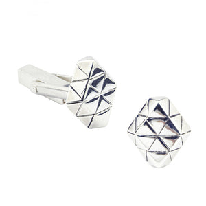Element diamond cufflinks
