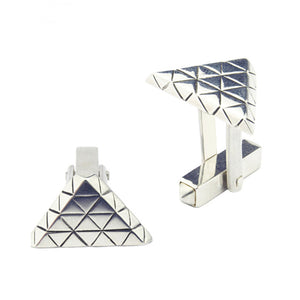 Element triangular cufflinks