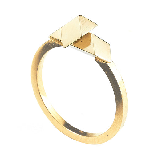 Element, Equilibrium ring gold plated