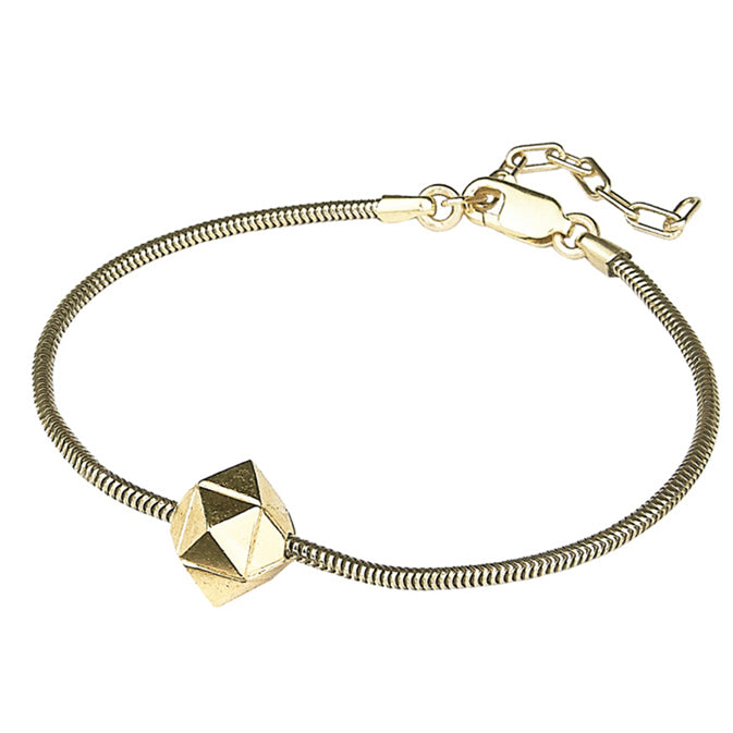 Element, meteorite bracelet gold or silver