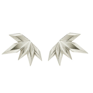 Element, silver spark earrings