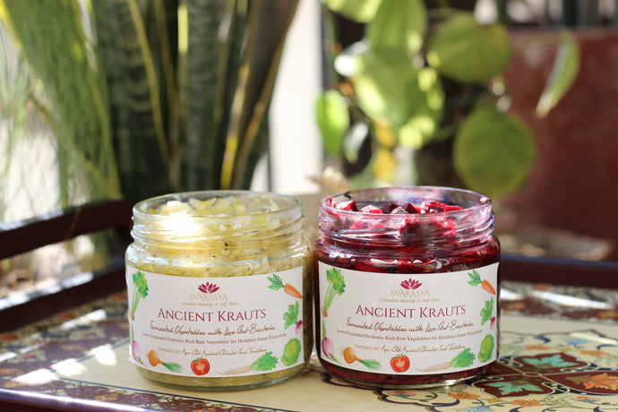 SKIN HEALTH WITH ANCIENT KRAUTS