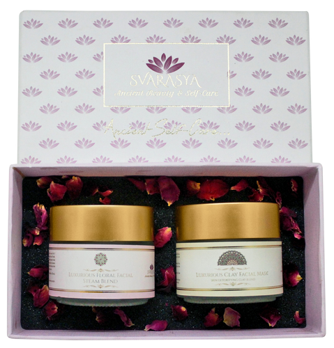 LUXURIOUS FLORAL & CLAY DETOX GIFT PACK