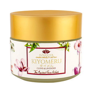 KIYOMERU - THE ANCIENT NATURAL FACE WASH AND NIVR - NATURAL SUN PROTECTION (Pack of 2, 100 gms & 50 ml)