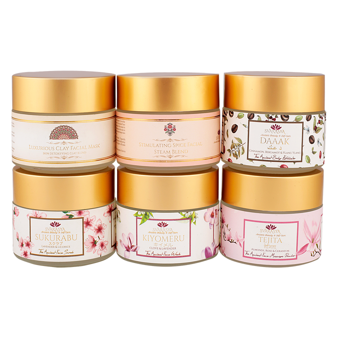 LUXURIOUS SPICE FACE & BODY HOME SPA