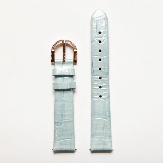 Watchstrap Camelia collection Blue colour