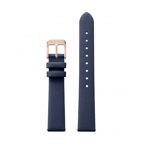Watchstrap Lily collection Navy x Rose Gold