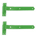 "450mm 18"" Cranked Hook & Bands - Green"