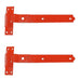 "600mm 24"" Cranked Hook & Bands - Red"