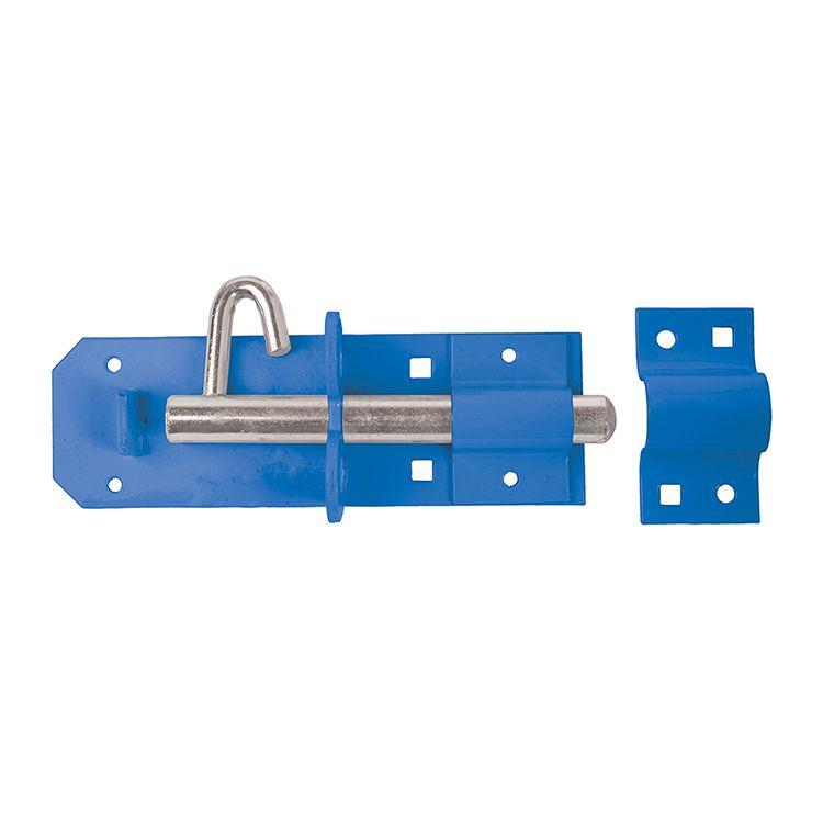 "200mm 8"" Heavy Brenton Padlock Bolts - Blue"