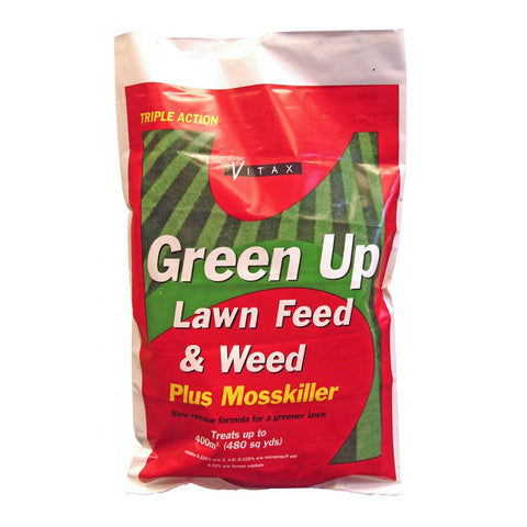 Vitax Green Up Granular Feed and Weed Plus Mosskiller 25kg