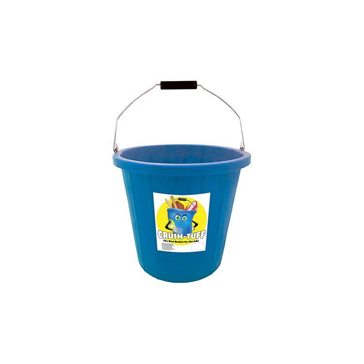 1.3 Gallon (6Ltr) Crush-Tuff Multi-Purpose Bucket - Blue