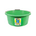 3 Gallon (15 Ltr) Crush-Tuff Shallow Feeder Bucket - Green