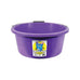 3 Gallon (15 Ltr) Crush-Tuff Shallow Feeder Bucket - Purple
