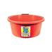 3 Gallon (15 Ltr) Crush-Tuff Shallow Feeder Bucket - Red
