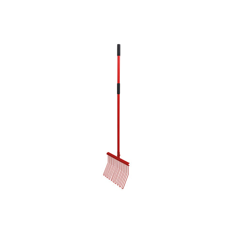 Rubber Matting Fork with Aluminium Handle