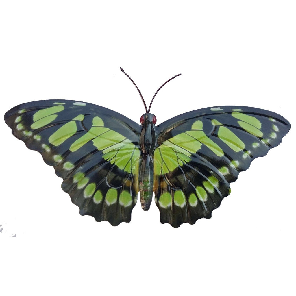 Large Metal Butterfly - Green