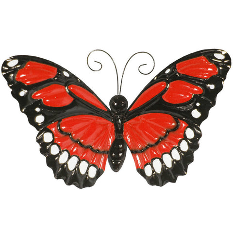 Large Metal Butterflies with Flapping Wings