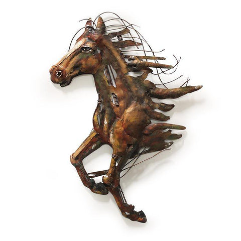 Abstract Metal Horse
