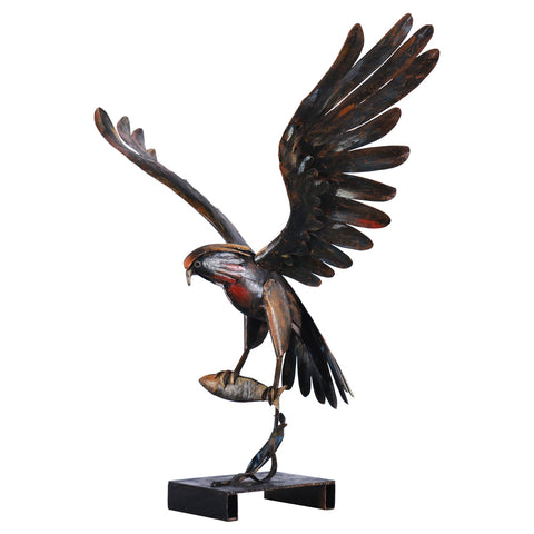 The Iron Eagle Sculpture