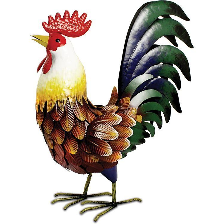 farmyard metal rooster