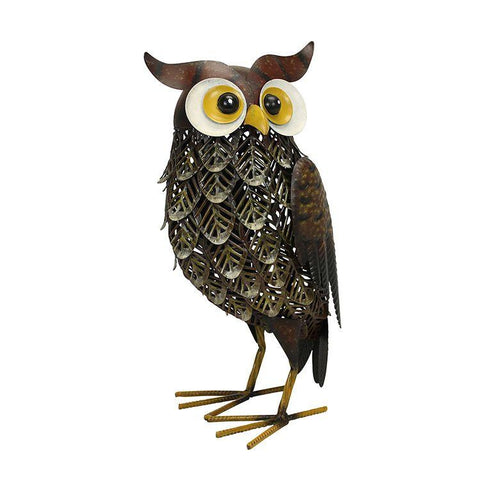 brown woodlands owl