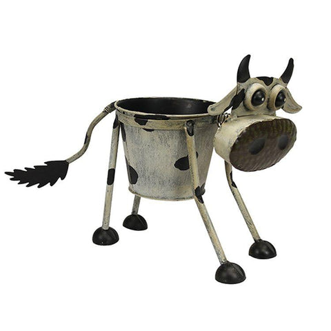 goofy cow planter