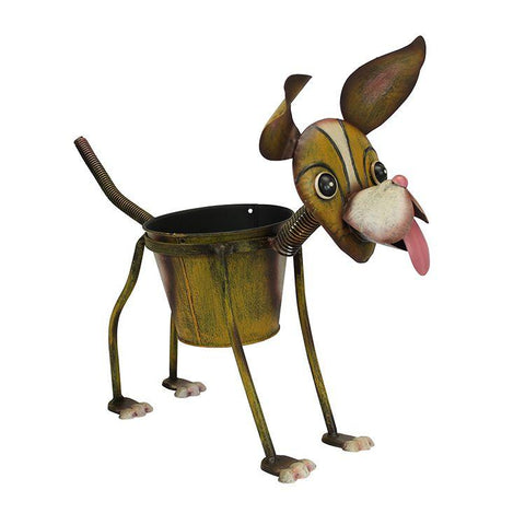goofy dog planter