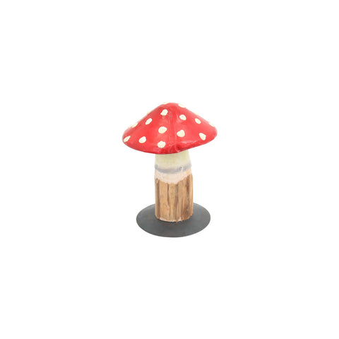 Wood & Metal Toodstool - Small