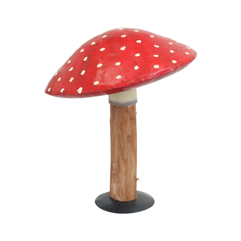 Wood & Metal Toodstool - Large