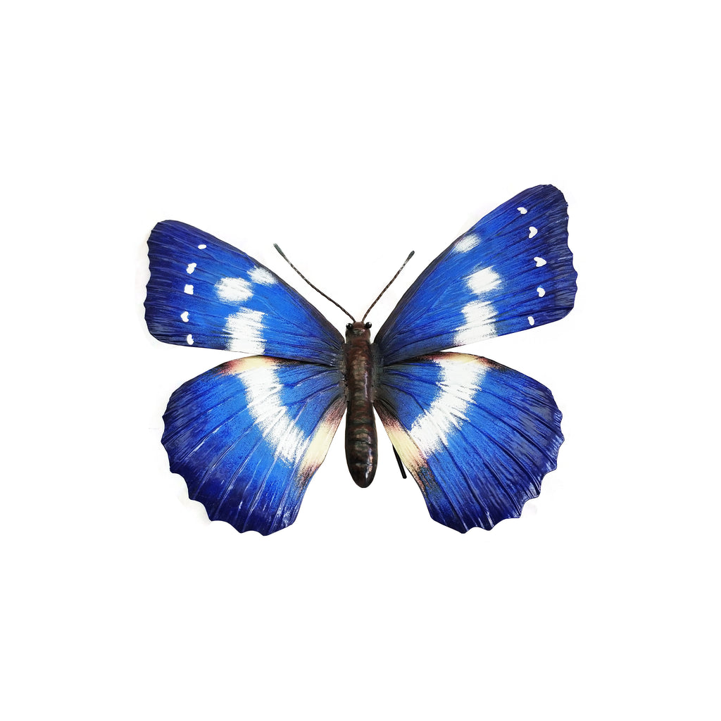 Giant Metal 3D Blue Butterfly