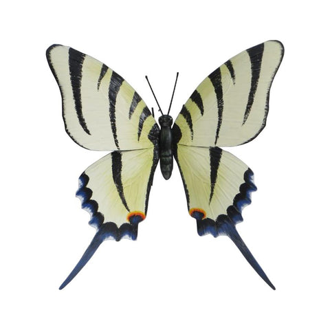 Giant Metal 3D White Butterfly
