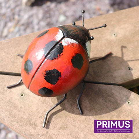 Small Metal 3D Ladybird