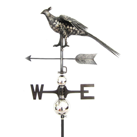 3D Pheasant Weathervane with Garden Stake