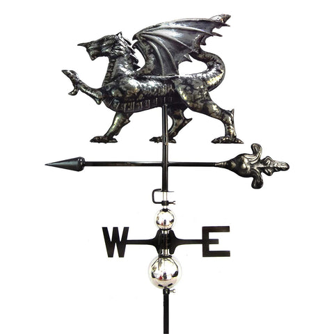 3D Dragon Weathervane with Garden Stake