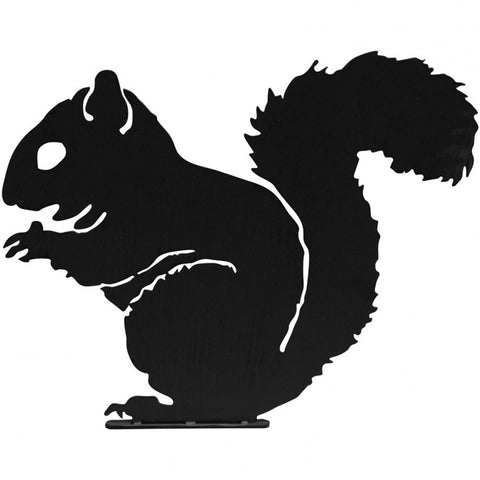 Squirrel Garden Silhouette with Fixing Plate